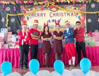 โรงเรียนบ้านช่องเม็ก จัดกิจกรรมวันคริสต์มาส ประจำปี 2561