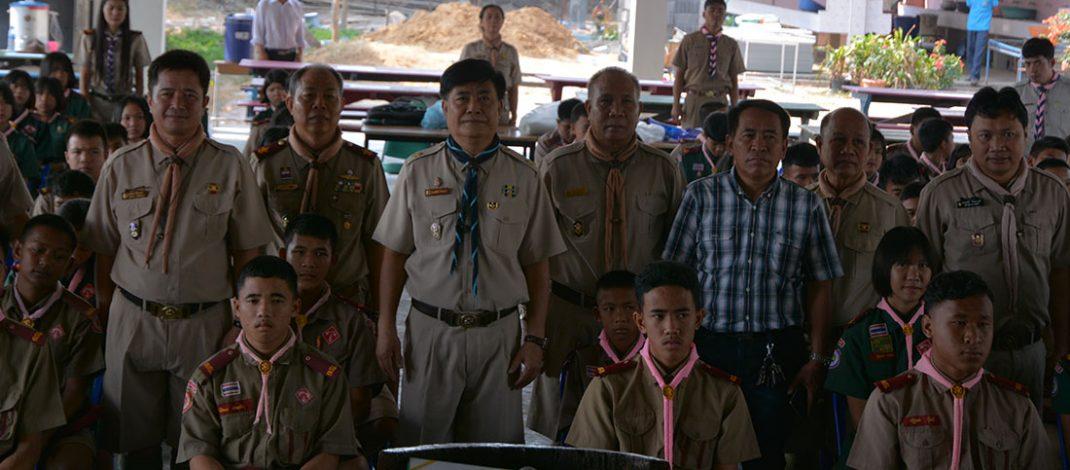 สพป.ยโสธร เขต 2 จัดโครงการลูกเสือต้านภัยยาเสพติด
