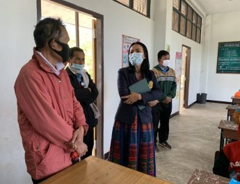 นางสุพิชญ์ชญา มีแก้ว รอง ผอ.สพป.ยโสธร เขต 2 ออกตรวจเยี่ยมโรงเรียนในพื้นที่ อำเภอป่าติ้ว จังหวัดยโสธร