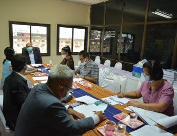 สพป.ยโสธร เขต 2 ประชุมแจ้งจัดสรรงบประมาณสำหรับจัดจ้างพี่เลี้ยงเด็กพิการสำหรับโรงเรียนทั่วไปจัดการเรียนรวม ในระยะเวลา 3 เดือน ณ ห้องประชุมกลุ่มบริหารงานบุคคล สำนักงานเขตพื้นที่การศึกษาประถมศึกษายโสธร เขต 2